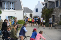 TOUR DE HOUAT 2015. 2��tion. Ile de Houat (56), le 29 aout 2015. Photos: � Yves MAINGUY